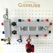 Модульные коллекторы отопления из конструкционной стали