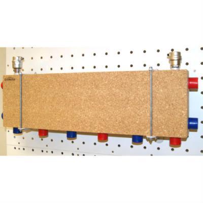 Модульный коллектор отопления Gidruss MK-60-4D (для гидрострелок GR-60-25, GR-100-32, 4 выхода G 1'')