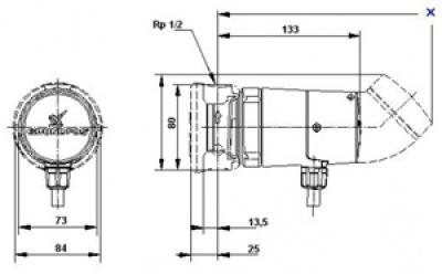 Насос циркуляционный Grundfos UP15-14B PM