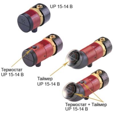 Насос циркуляционный Grundfos UP15-14B