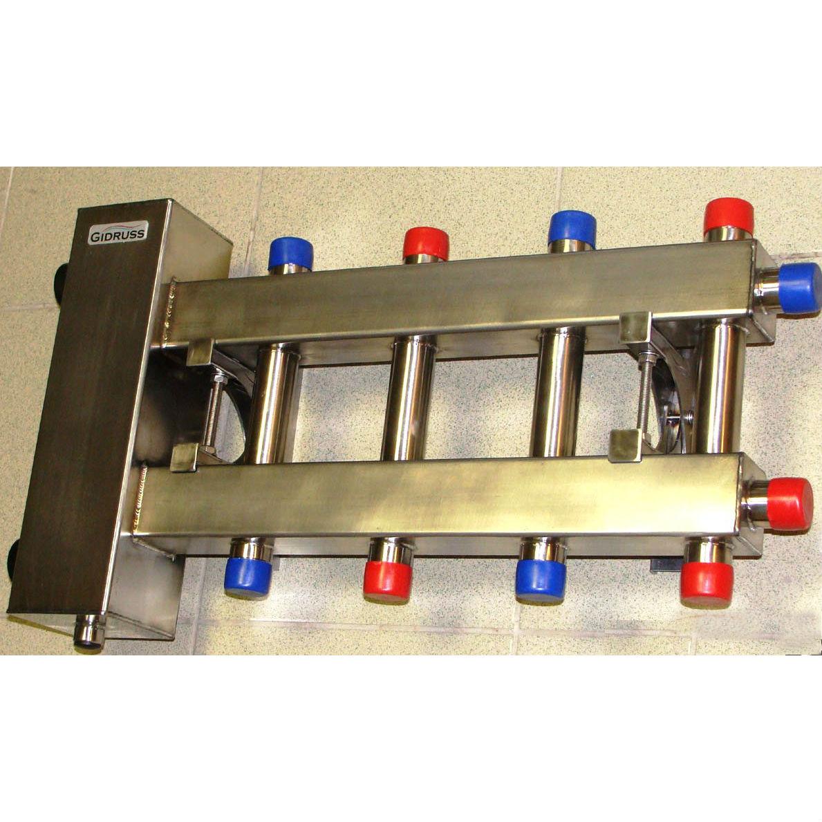 Коллектор для отопления из металла