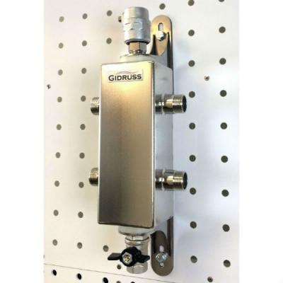 Гидрострелка (Гидравлический разделитель) Gidruss GRSS-40-20 из нержавеющей стали