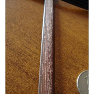 """Искусственный ротанг """"Полумесяц цвет коричневый, текстура доска"""" для плетения мебели"""