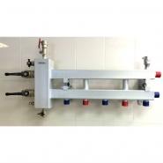 Коллектор отопления с гидрострелкой GidrussBM-100-3D из конструкционной стали