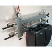 Коллектор отопления с гидрострелкой GidrussBMSS-60-3D из нержавеющей стали