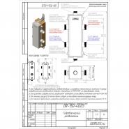 Гидрострелка (Гидравлический разделитель) Gidruss GR-150-40 из конструкционной стали