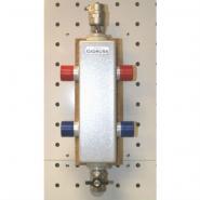 Гидрострелка (Гидравлический разделитель) Gidruss GR-40-20 из конструкционной стали