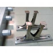 Комплект настенного монтажа из нержавеющей стали Gidruss K.BMSS-100