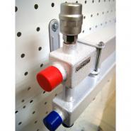 Модульный коллектор отопления на 4 контура Gidruss MK-60-4D для гидрострелки до 60, до 100 кВт из конструкционной стали