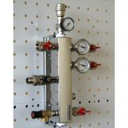 Термогидравлический разделитель на 2 контура Gidruss ТGRSS-40-20х2 Gidruss из нержавеющей стали