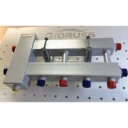 Коллектор отопления с гидрострелкой Gidruss компакт BMK-60-3D из конструкционной стали
