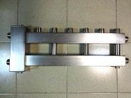 Коллектор отопления с гидрострелкой GidrussBMSS-60-4U из нержавеющей стали