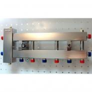 Коллектор отопления с гидрострелкой Gidruss компактBMKSS-60-4D из нержавеющей стали