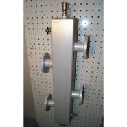 Гидрострелка (гидравлический разделитель) Gidruss GRF-400-65 фланцевая из конструкционной стали