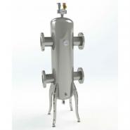 Гидрострелка (гидравлический разделитель) Gidruss GRF-1000-100 фланцевая из конструкционной стали