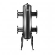 Гидрострелка (гидравлический разделитель) Gidruss GR-1200-125 до 1.2 мВт, 1-125-10 ГОСТ 12820-81, корпус из бесшовной трубы D=273 мм ст. 09Г2С толщиной от 8 мм, 4 подключения Rp ½″