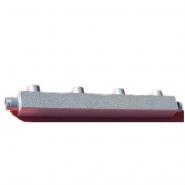 Распределительный коллектор на 4 контура Gidruss DM-32-25x4 из конструкционной стали