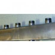 Распределительный коллектор на 5 конутров Gidruss DMSS-32-25x5 из нержавеющей стали