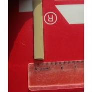 """Искусственный ротанг """"Полумесяц цвет 88127 слоновая кость 7 мм, текстура гладкая"""" для плетения мебели"""