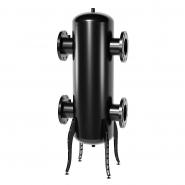 Гидрострелка (гидравлический разделитель) Gidruss GR-2000-150 до 2 мВт, фланец 1-150-10 ГОСТ 12820-81, корпус из бесшовной трубы D=377 мм ст. 09Г2С толщиной 9 мм Артикул: 21 20000 02