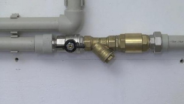 грязевой фильтр отопления